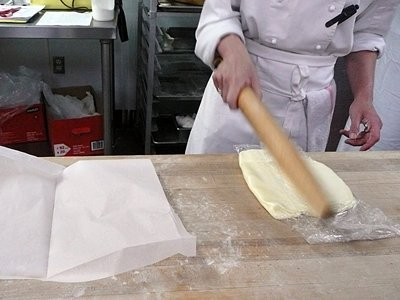 whacking butter into submission